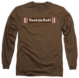 Long Sleeve: Tootsie Roll - Tootsie Roll Logo T-shirts