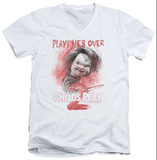 Childs Play 2 - Playtimes Over V-Neck T-shirts