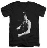 Bruce Lee - Stance V-Neck T-Shirt