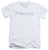 7th Heaven - 7th Heaven Logo V-Neck T-shirts