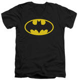 Batman - Classic Logo V-Neck Shirts