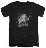 Bewitched - Vintage Witch V-Neck T-shirts