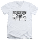 Bruce Lee - Kick To The Head V-Neck Shirts