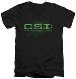 CSI - Sketchy Shadow V-Neck Shirts