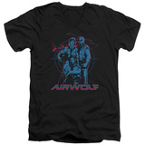 Airwolf - Graphic V-Neck Shirts