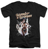 Wonder Woman - Wonder Woman Break Out V-Neck Shirt