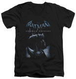 Batman Arkham Origins - Perched Cat V-Neck V-Necks