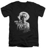 American Graffiti - Peel Out V-Neck T-Shirt