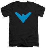 Batman - Nightwing Symbol V-Neck T-Shirt