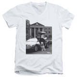 Back To The Future II - Einstein V-Neck T-shirts