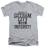 Batman - Property Of GCU V-Neck T-Shirt