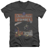 Batman - Detective No.27 Distressed V-Neck T-Shirt