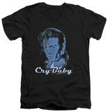 Cry Baby - King Cry Baby V-Neck T-Shirt