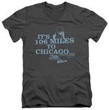 Blues Brothers - Chicago V-Neck T-shirts