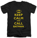 Batman - Call Batman V-Neck T-Shirt