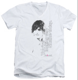 The L Word - Looking Shane Today V-Neck T-shirts