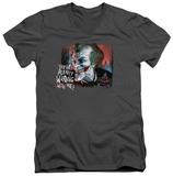 Batman Arkham City - Plenty Wrong V-Neck T-shirts