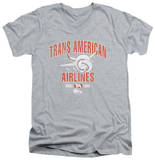 Airplane - Trans American V-Neck T-shirts