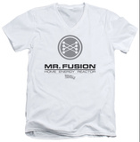 Back To The Future II - Mr. Fusion Logo V-Neck T-Shirt