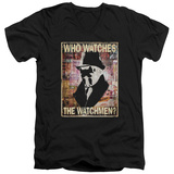Watchmen - Who Watches V-Neck T-shirts