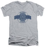 CSI - Vegas Badge V-Neck Shirts