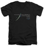 Apollo 13 - Gene Quote V-Neck T-Shirt