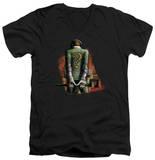 Batman Arkham City - Riddler Convicted V-Neck T-shirts