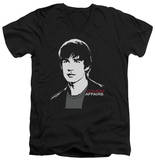 Covert Affairs - Auggie Portrait V-Neck T-shirts