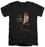 The Vampire Diaries - I Used To Care V-Neck T-Shirt