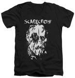 Batman Begins - Scarecrow Face V-Neck T-shirts