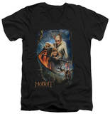 The Hobbit: The Desolation of Smaug - Thranduil's Realm V-Neck T-shirts