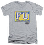 Animal House - Faber University V-Neck T-shirts