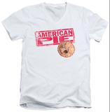 American Pie - Pie Logo V-Neck T-Shirt