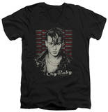 Cry Baby - Drapes & Squares V-Neck T-shirts