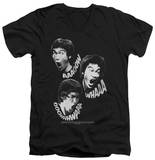 Bruce Lee - Sounds Of The Dragon V-Neck Shirts
