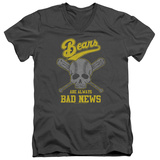 Bad News Bears - Always Bad News V-Neck T-shirts