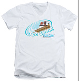 Chilly Willy - Too Cool V-Neck T-shirts