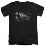 Batman Begins - Night Natives V-Neck Shirts