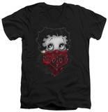 Betty Boop - Bandana & Roses V-Neck Shirts