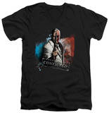 Batman Arkham City - Two Face V-Neck T-shirts