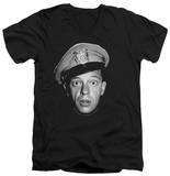 Andy Griffith - Barney Head V-Neck T-shirts
