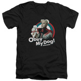 Zoolander - Obey My Dog V-Neck Shirts