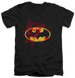 Batman - Joker Graffiti V-Neck T-shirts