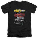 The Fast And The Furious - Muscle Car Splatter V-Neck T-Shirt
