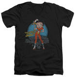 Betty Boop - Fries With That V-Neck T-Shirt