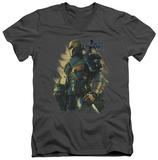 Batman Arkham Origins - Deathstroke V-Neck T-shirts