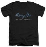 Batman Arkham Origins - Logo V-Neck T-Shirt