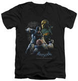 Batman Arkham Origins - Punch V-Neck Shirts