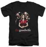 The Good Wife - Bad Press V-Neck Shirts
