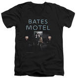Bates Motel - Motel Room V-Neck T-Shirt